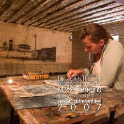 de zoektocht <br /> een interview <br /> Mieke Siemons