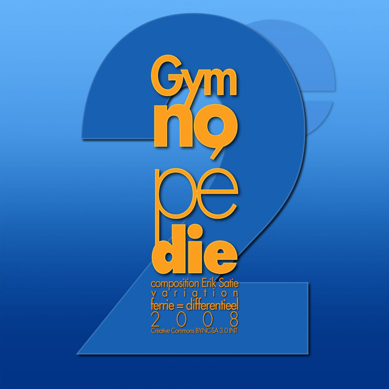2e Gymnopedie cover