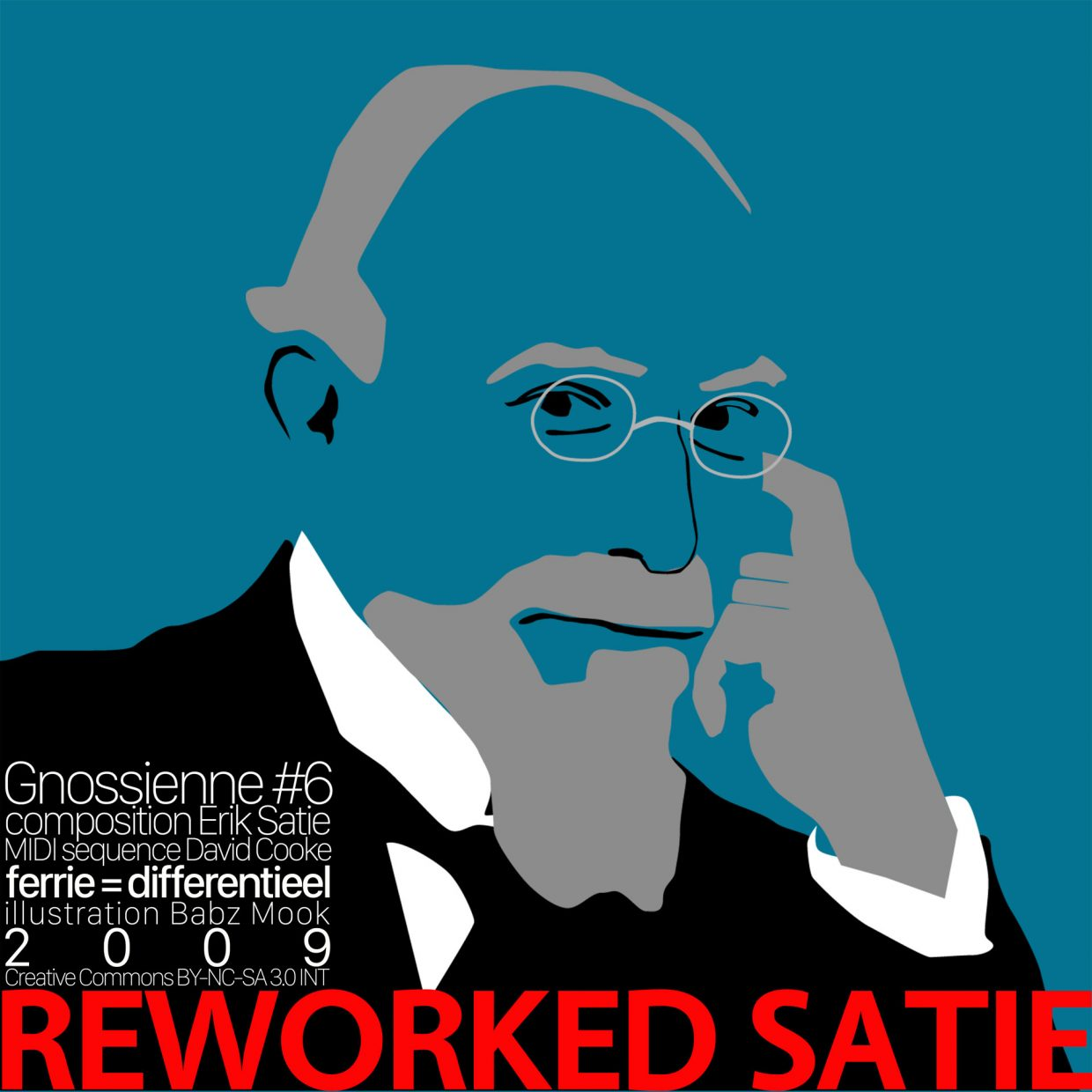 REWORKED SATIE Gnossienne6 cover
