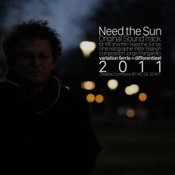 Need the Sun <br /> voor een film van Peter Baanen <br /> Jorge Franganillo