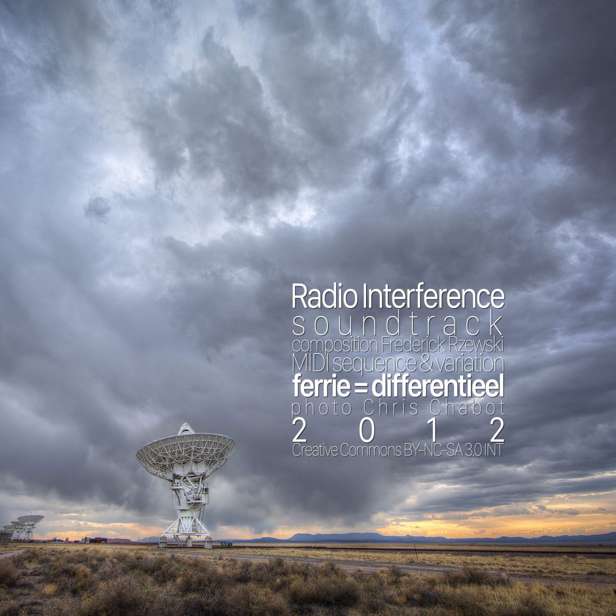 Radio Interference OST cover