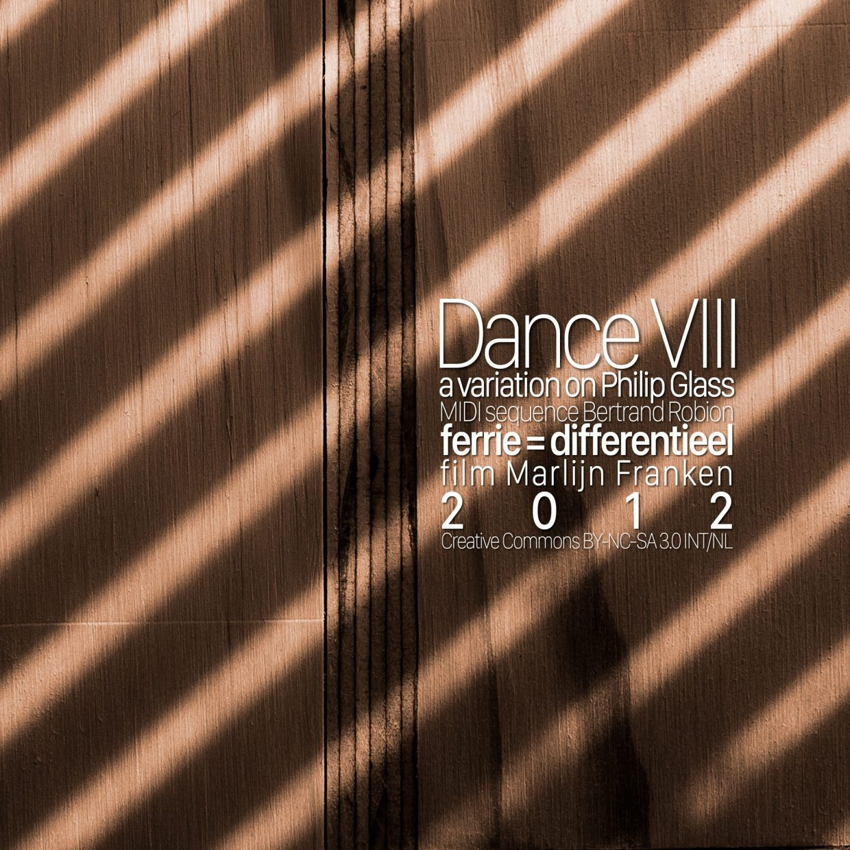 Dance VIII cover