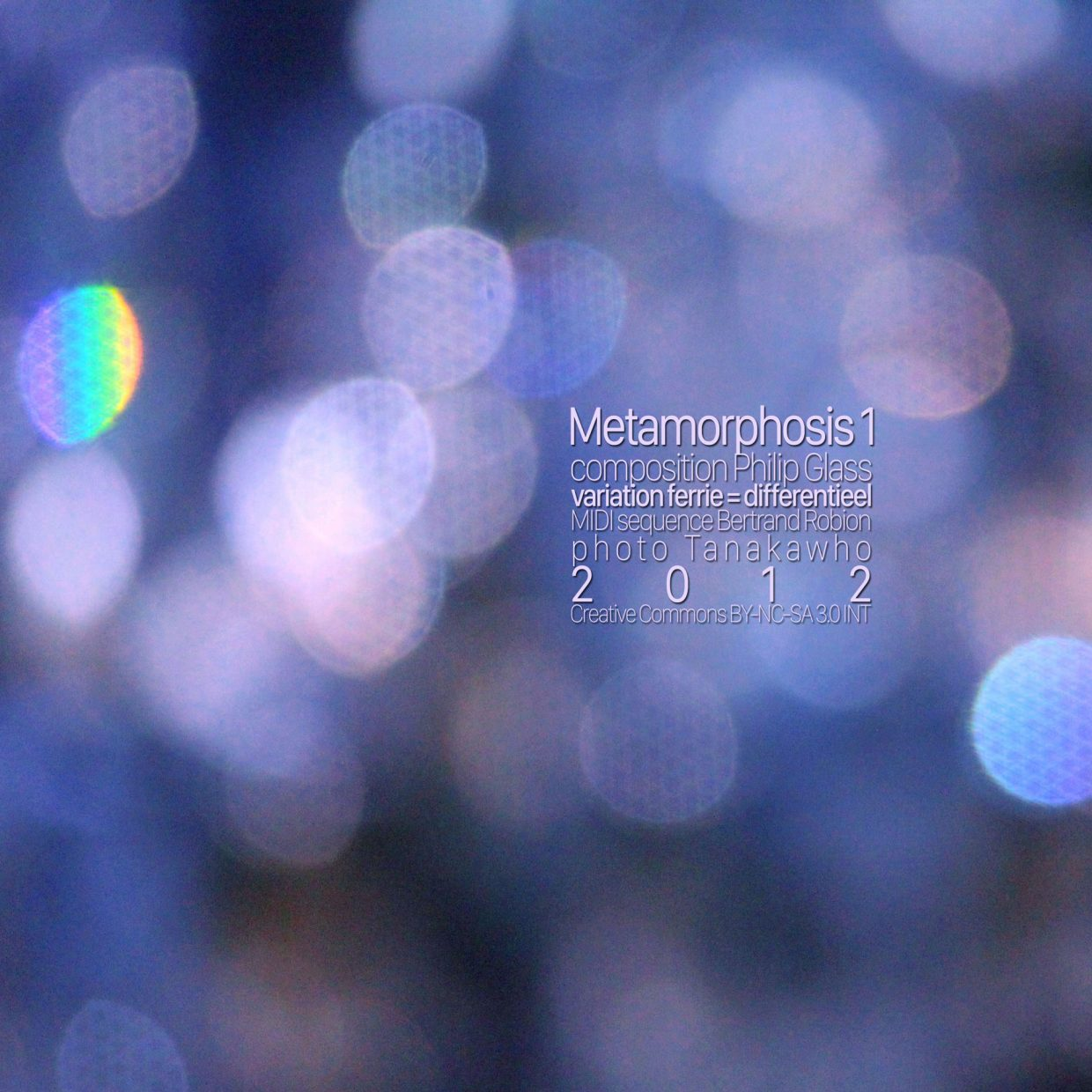 Metamorphosis 1 cover
