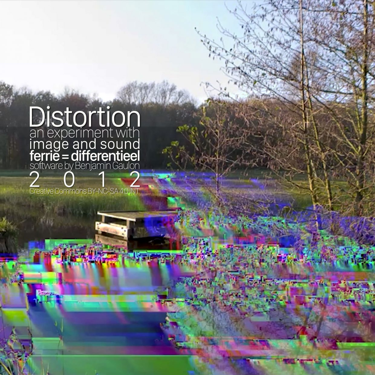 Distortion OST cover