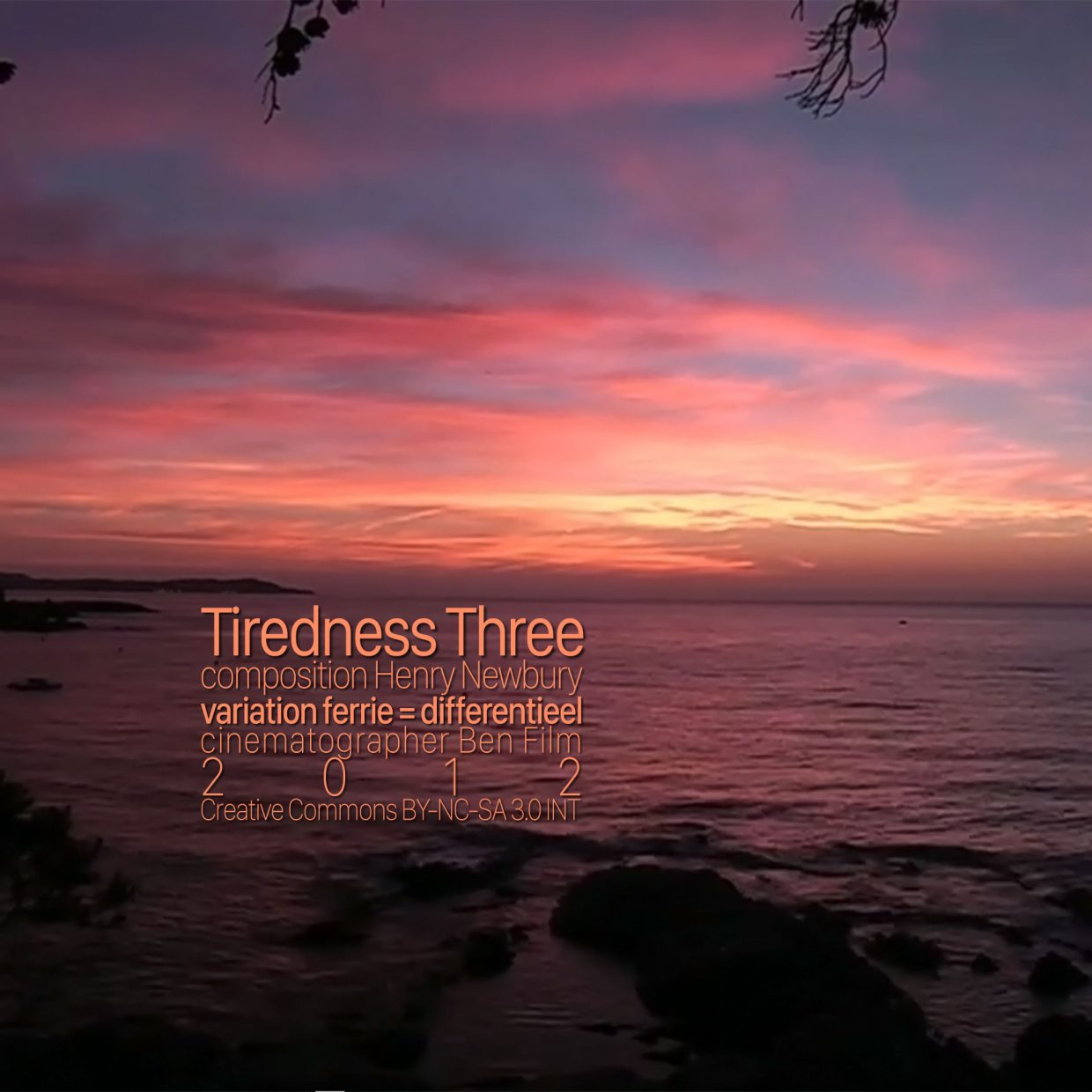 Tiredness Three cover