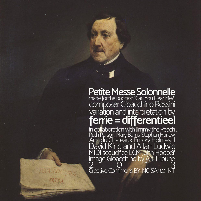 Petit Messe Solonnelle cover