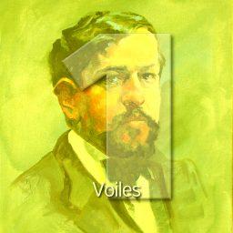 Voiles - zeilen <br /> uit de Preludes boek 1 en 2 <br /> Claude Debussy