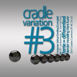 Cradle Variation #3 <br /> Joshua Dowling