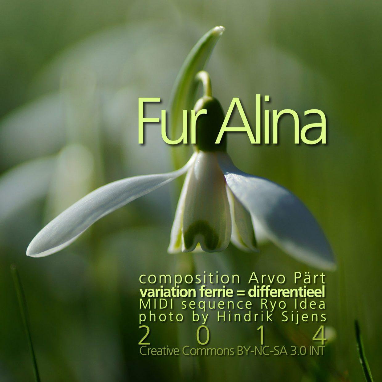 Fur Alina cover