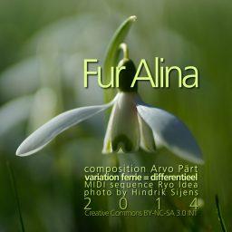 Fur Alina <br /> variatie op een MIDI sequence van <br /> Ryo Idea