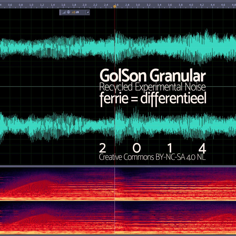 GolSon Granular - Experimenteel Lawaai - cover
