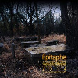 Épitaphe <br /> een muzikaal grafschrift <br /> Louis Vierne