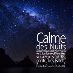 Calme des Nuits <br /> de Virtuele Zangers <br /> Camille Saint-Saëns