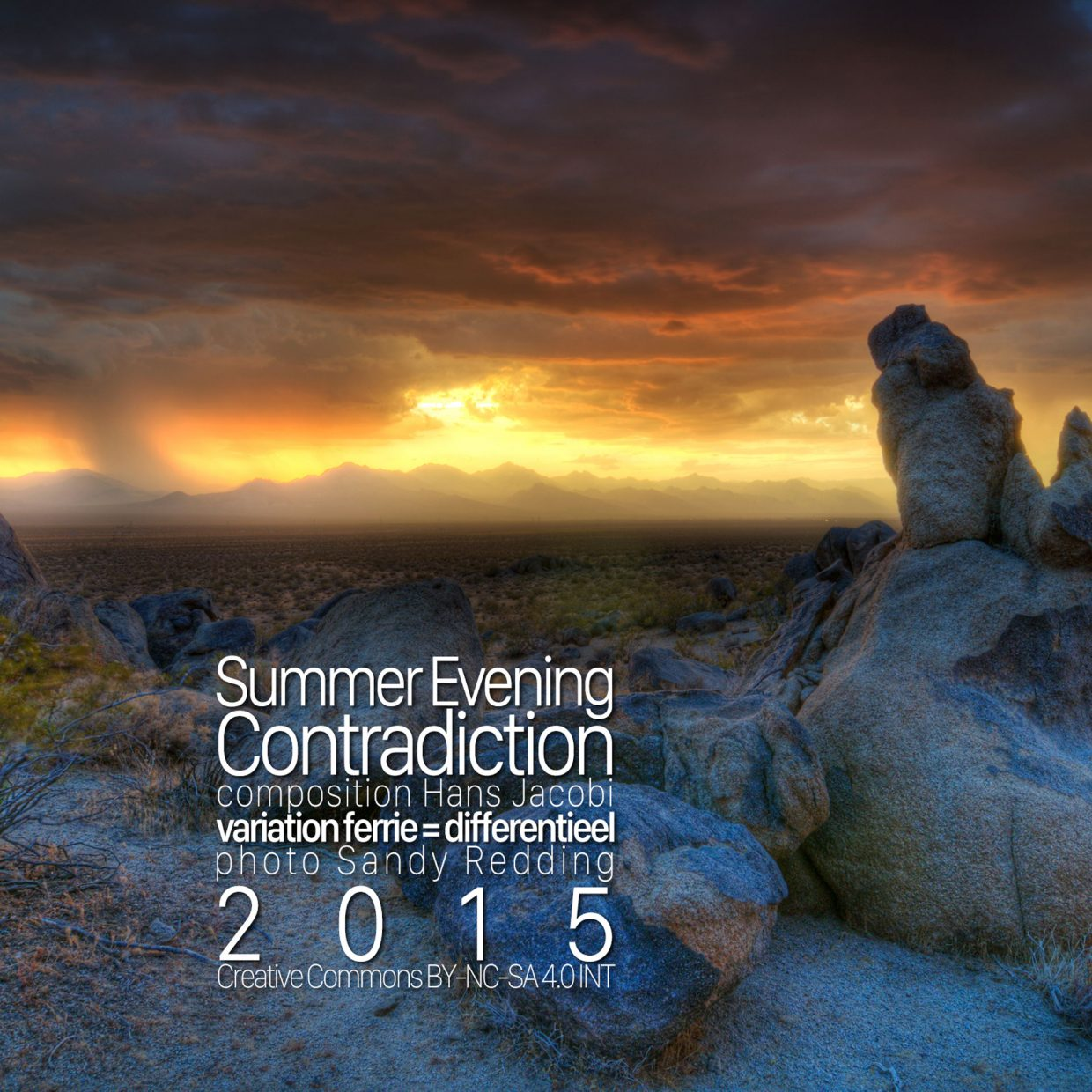 Summer Evening Contradiction cover