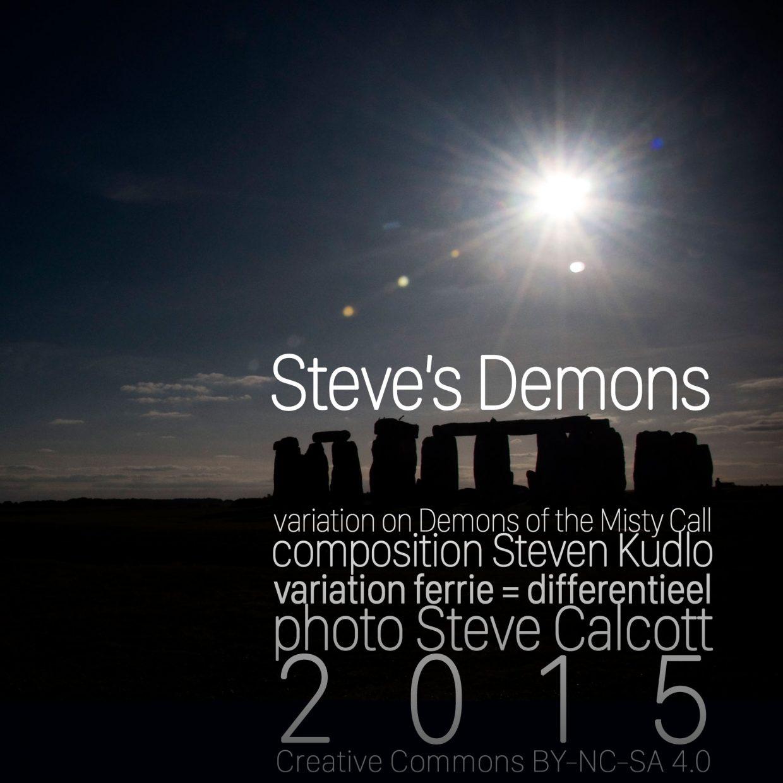 Steves Demons cover