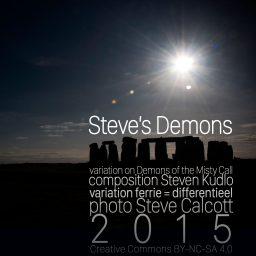 Steve's Demons <br /> melodische minimal music <br /> Steven Kudlo