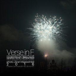 Verse in F <br /> klassiek met een modern jasje <br /> Henry Purcell