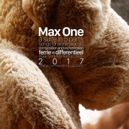 Max One <br /> 5 liedjes voor een éénjarige <br /> eenvoudig