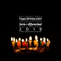 Happy Birthday Julian <br /> een muzikaal kadootje
